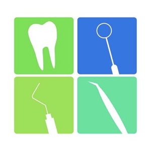 Dental square icons