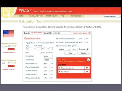 FRAX Website