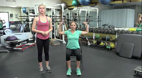 Bone Break Day Video - Exercise - Shoulder Press